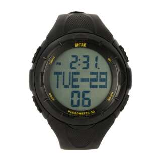 M-Tac часы с шагомером Black