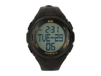 M-Tac часы с шагомером черные