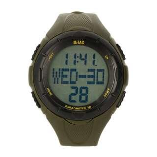 M-Tac часы с шагомером Olive