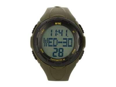 M-Tac часы с шагомером олива
