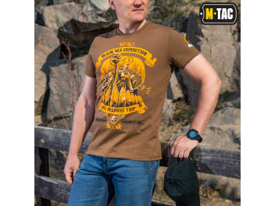 M-Tac футболка Black Sea Expedition Coyote Brown