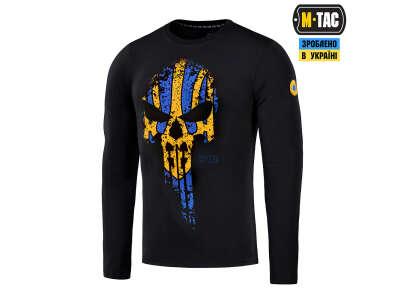 M-Tac футболка Месник длинный рукав Black/Yellow/Blue