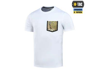 M-Tac футболка з кишенею 93/7 White