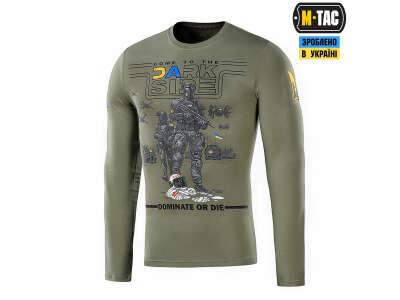 M-Tac футболка UA Side длинный рукав Light Olive