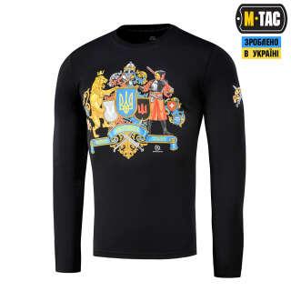 M-Tac футболка Україна понад усе! длинный рукав Black