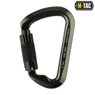 M-Tac карабін 10 см з байонетною муфтою Keylock сірий