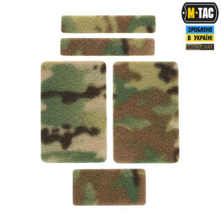 M-Tac комплект липучек (5 шт) Multicam