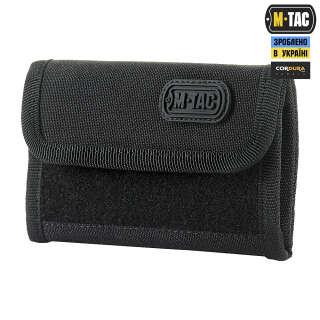 M-Tac гаманець з липучкою Elite Gen.II Black