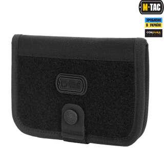 M-Tac гаманець з липучкою Elite Large Black