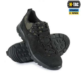 M-Tac кросівки тактичні Patrol R Multicam Black