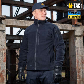 M-Tac куртка Alpha Microfleece Light Dark Navy Blue