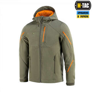 M-Tac куртка Soft Shell Falcon Dark Olive