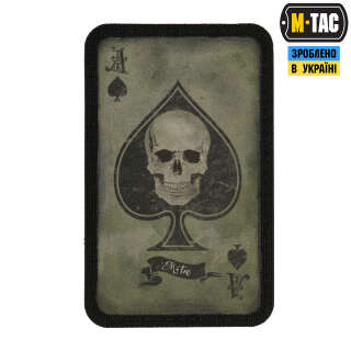 M-Tac нашивка Ace of Spades Ranger Green/Black