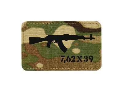 M-Tac нашивка AKM 7,62х39 Laser Cut Multicam/Black