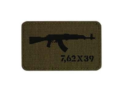 M-Tac нашивка AKM 7,62х39 Laser Cut Ranger Green/Black
