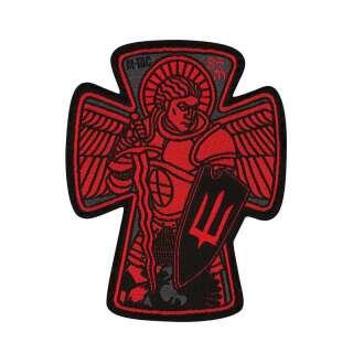 M-Tac нашивка Архангел Михаїл велика (жаккард) червона