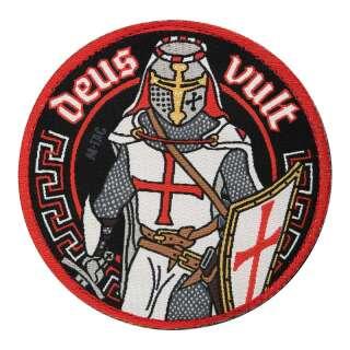 M-Tac нашивка Deus Vult (жаккард)