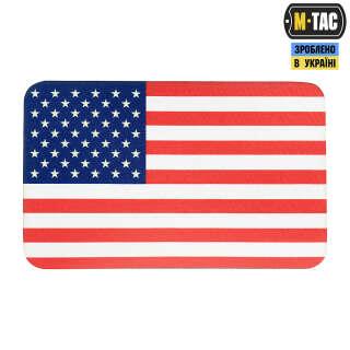 M-Tac нашивка прапор США (80х50 мм) Full Color/GID
