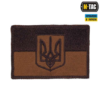 M-Tac нашивка прапор України з гербом койот