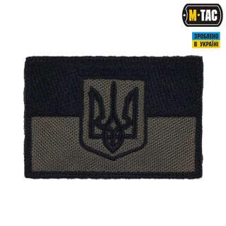 M-Tac нашивка прапор України з гербом олива