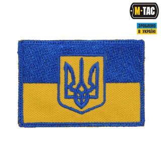 M-Tac нашивка прапор України з гербом