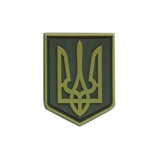 M-Tac нашивка герб України ПВХ олива