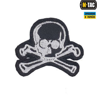 M-Tac нашивка Old Skull чорна
