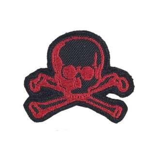 M-Tac нашивка Old Skull червоно-чорна