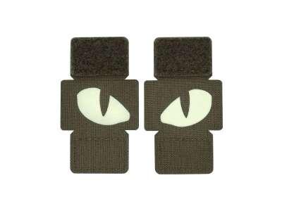 M-Tac нашивка Tiger Eyes Laser Cut (пара) Ranger Green