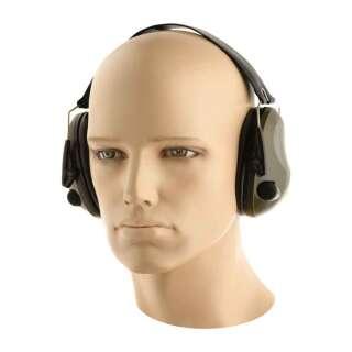 M-Tac навушники стрілецькі активні 6S Olive