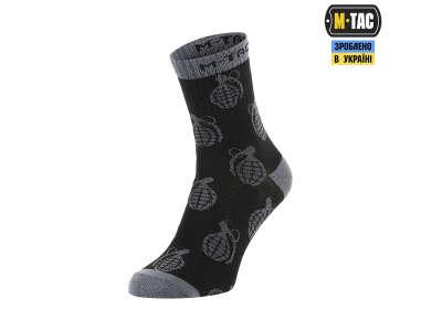 M-Tac шкарпетки легкі Mk.3 Grenades Black