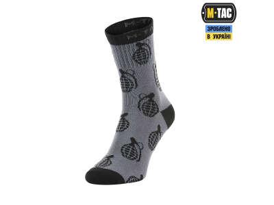 M-Tac шкарпетки легкі Mk.3 Grenades Dark Grey