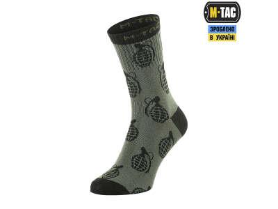 M-Tac шкарпетки легкі Mk.3 Grenades Olive