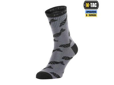 M-Tac шкарпетки легкі Mk.3 Mortar Bombs Dark Grey