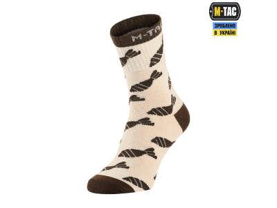 M-Tac шкарпетки легкі Mk.3 Mortar Bombs Sand