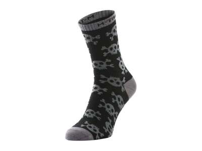 M-Tac шкарпетки легкі Mk.3 Pirate Skull Black
