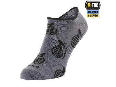 M-Tac носки летние легкие Grenades Dark Grey