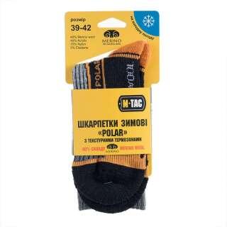 M-Tac шкарпетки Polar Merino 40% Black