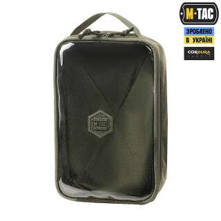 M-Tac органайзер утилітарний прозорий Elite Large Gen.II Ranger Green