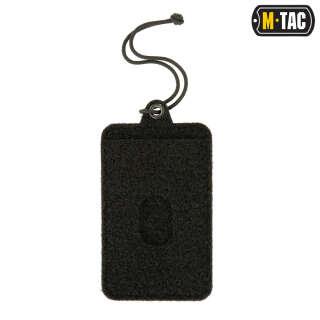 M-Tac панель для нашивок підвісна з кишенею для ID-карти Black