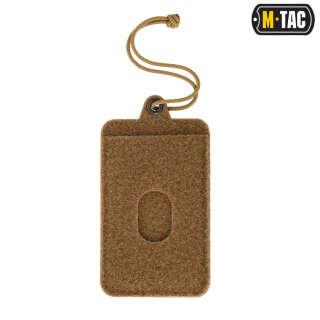 M-Tac панель для нашивок підвісна з кишенею для ID-карти Coyote