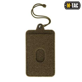 M-Tac панель для нашивок підвісна з кишенею для ID-карти Olive