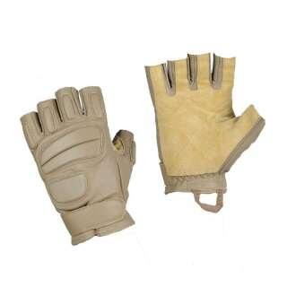 M-Tac рукавички безпалі шкіряні Assault Mk.1 Khaki