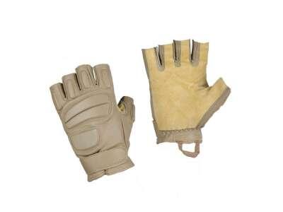 M-Tac перчатки беспалые кожаные Assault Tactical Mk.1 Khaki