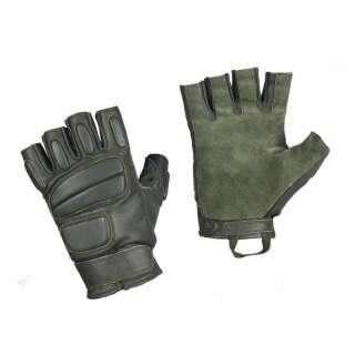 M-Tac рукавички безпалі шкіряні Assault Mk.1 Olive