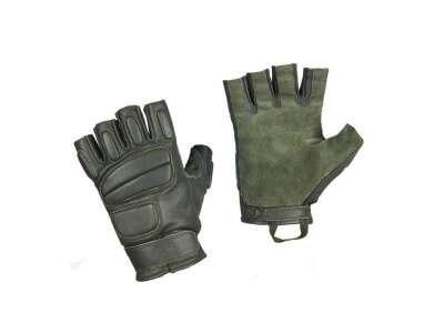 M-Tac перчатки беспалые кожаные Assault Mk.1 Олива