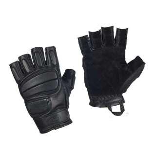 M-Tac рукавички безпалі шкіряні Assault Mk.1 Black