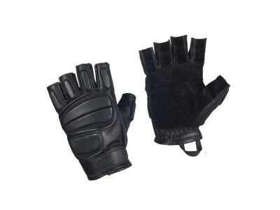 M-Tac перчатки беспалые кожаные Assault Tactical Mk.1 Black