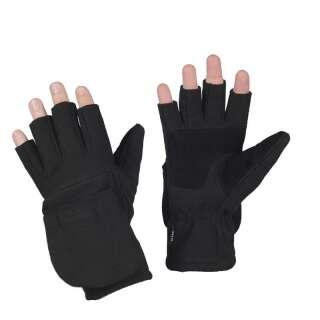 M-Tac рукавички безпалі з клапаном Windblock 295 Black