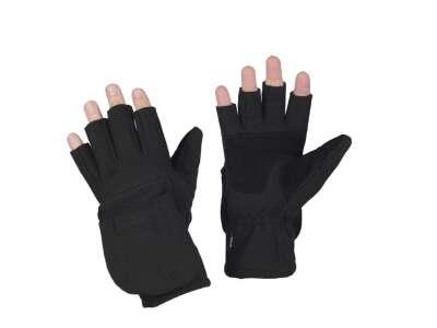 M-Tac перчатки беспалые с клапаном Windblock 295 чёрная